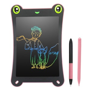 NEWYES 8.5inch Colorful Screen LCD Writing Tablet Electronic Digital Drawing Handwriting Pad Paperless Message Board Kids Puzzle(China)