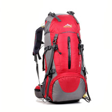 50L large capacity outdoor climbing bags men Super Plug Outdoor women luggage travel bag on foot hiking/camping sports backpacks