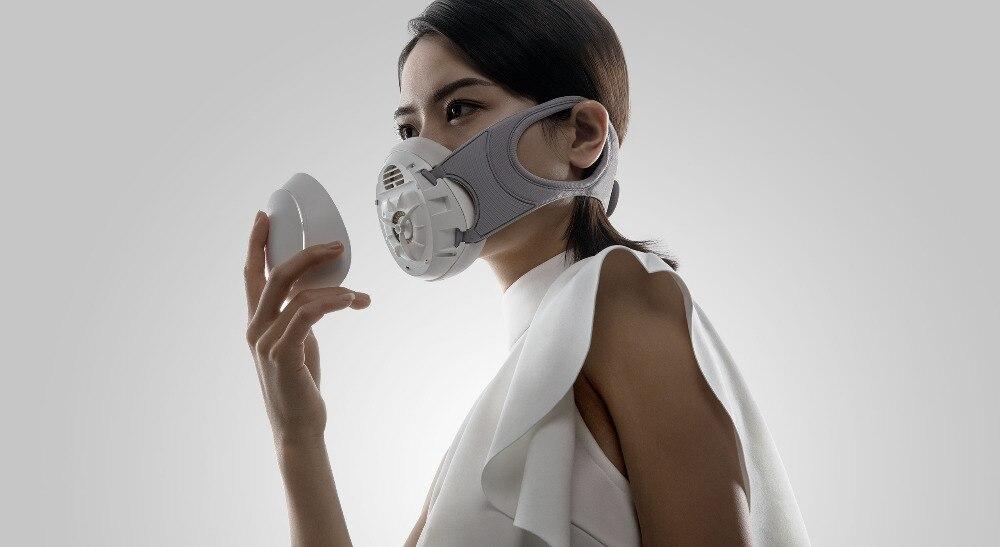 masque anti pollution usb