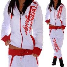 ZOGAA 2020 New Fashion Chandal Mujer Women's 2 Piece Set Tracksuit Women женские спортивные костюмы Sweatshirt + Pants Hot Sale