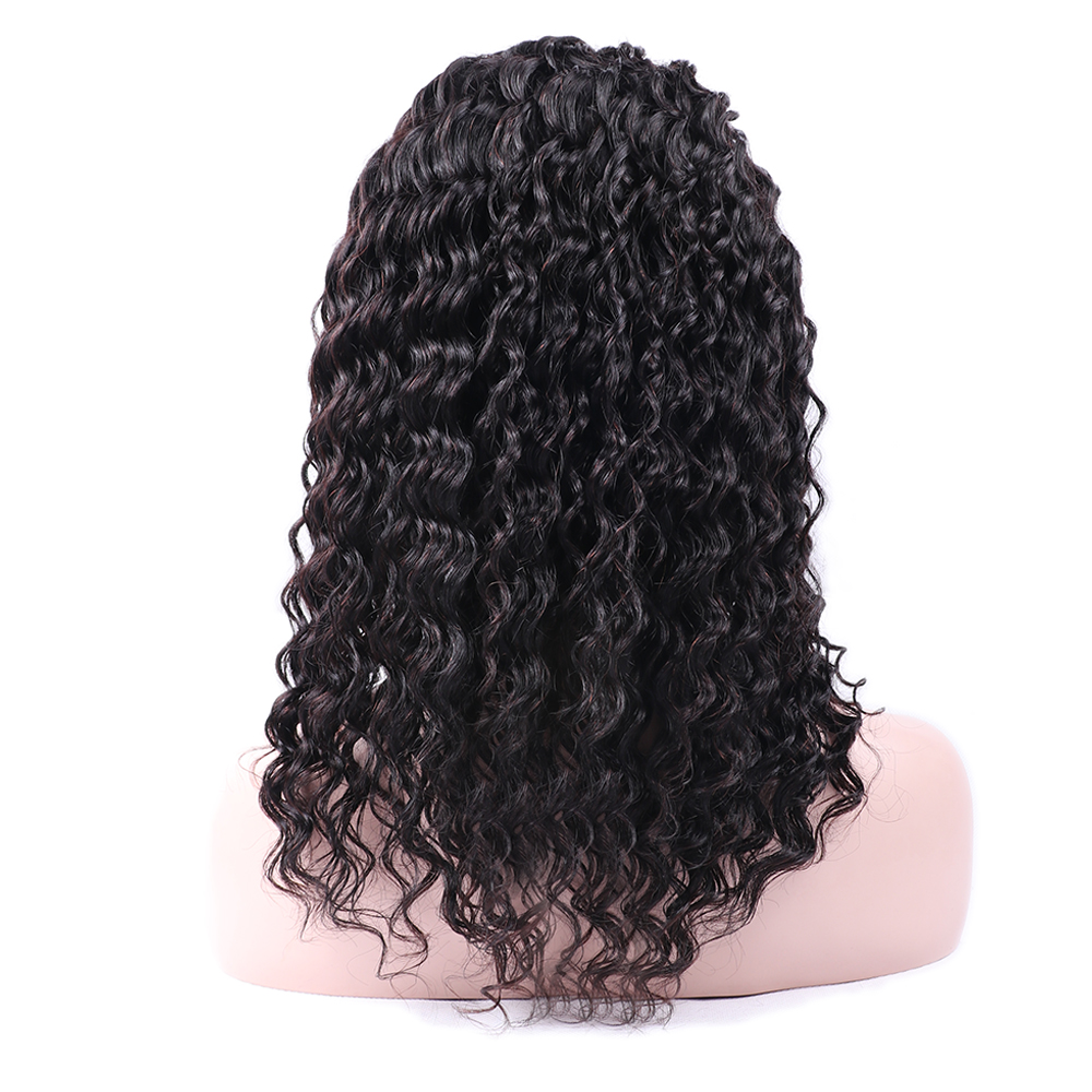Sapphire Short Wigs For Black Women Remy Ocean Wave Human Hair Wig 4inch 100% Human Hair Machine Made Lace Front Remy Hair Wigs Human Hair Lace Wigs