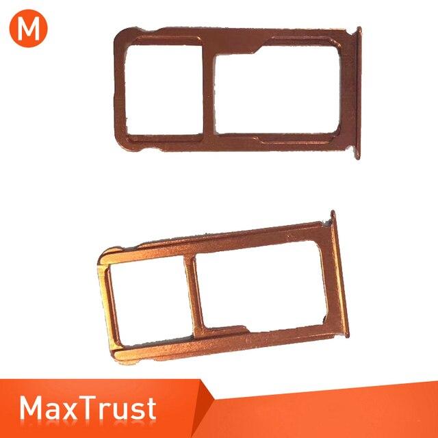 Soporte para tarjeta SIM de alta calidad para Nokia 7 Plus 7 + recambio de soporte de ranura pieza de reparación