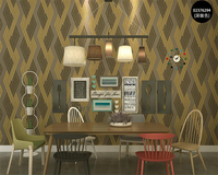 Beibehang Modern family TV background wallpaper Curve stripes abstract 3D wallpaper bedroom living room wallpaper for walls 3 d