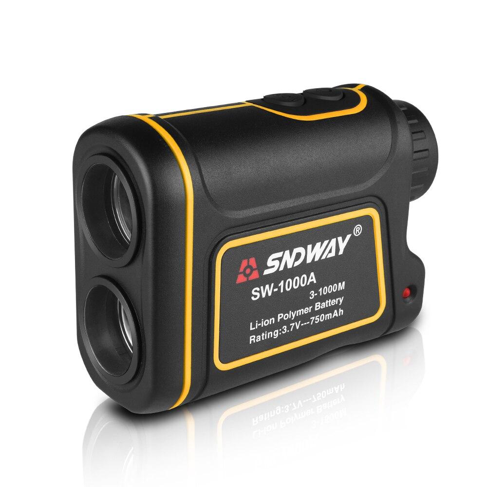 Telescope Laser Rangefinder 1000m Laser Distance Meter 7X Monocular Golf hunting laser Range Finder tape Measure Roulette sports - 2