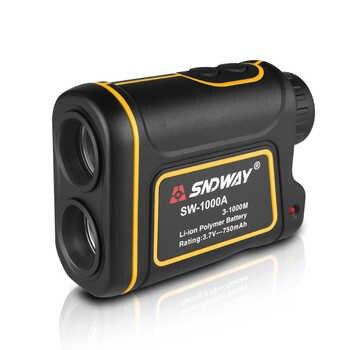 Telescope Laser Rangefinder 1000m Laser Distance Meter 7X Monocular Golf hunting laser Range Finder tape Measure Roulette sports