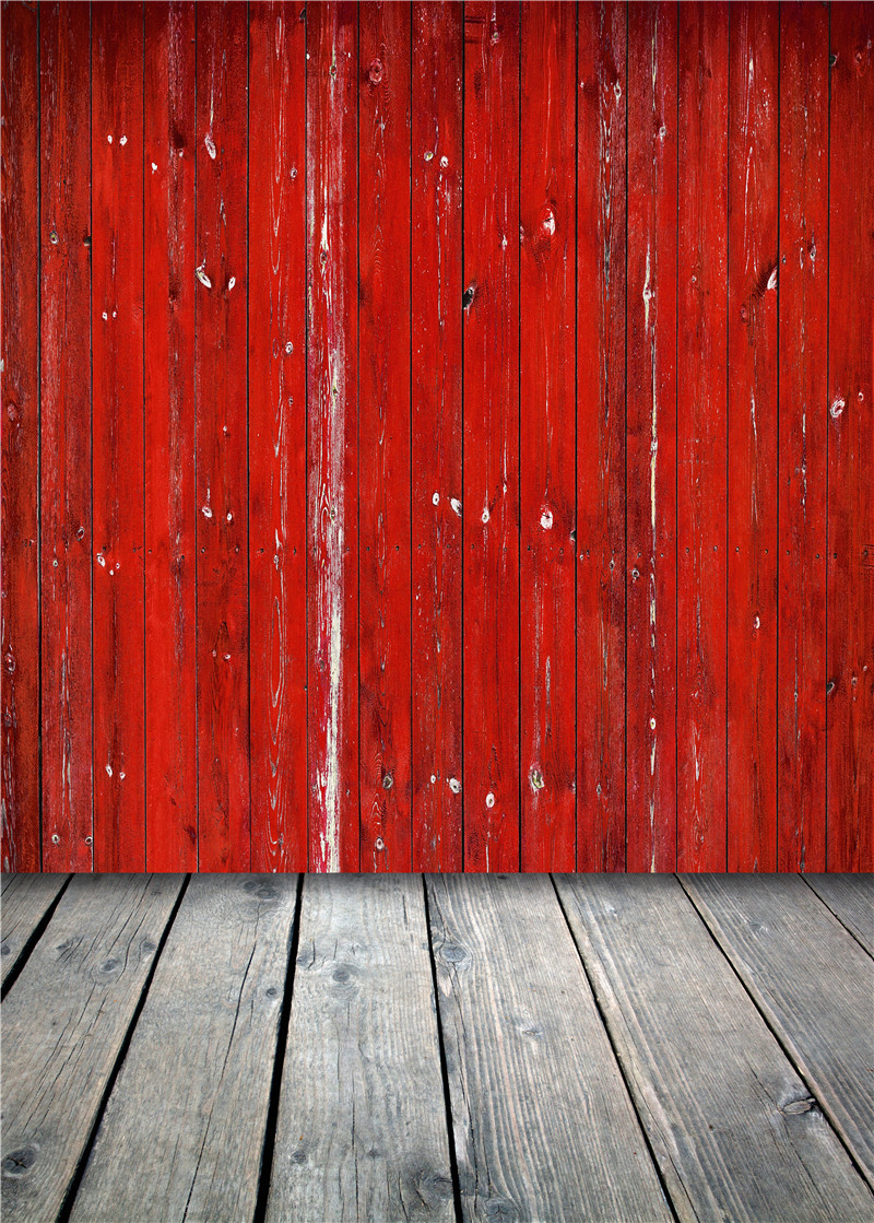 Red Photography Backdrops Wooden Floor Vinyl Photo Props for Studio Background Photo 5x7ft or 3x5ft Jieqx068 piano backdrops wooden floor wedding stor photo props background vinyl 5x7ft or 3x5ft