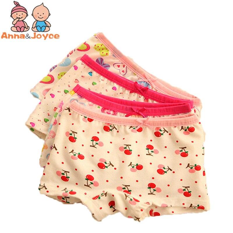 3pcs/lot  Baby Girls Underwear boxer Cotton Panties for Girls Kids Boxer Underwear A Variety of Fancy 1