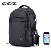 CCZ 2017 Neue Mode Rucksack Nylon Schultern Tasche Männer Tasche Schultasche Für Reisen 14 zoll Laptop Rucksack Rucksack BK8018