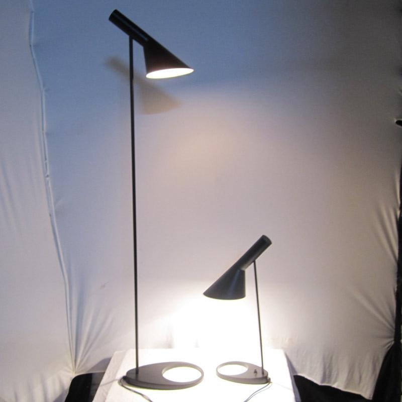 led energy saving metal AJ floor lamp design by Arne Jacobsen aj lamp floor кресло scott howard arne jacobsen style egg chair premium