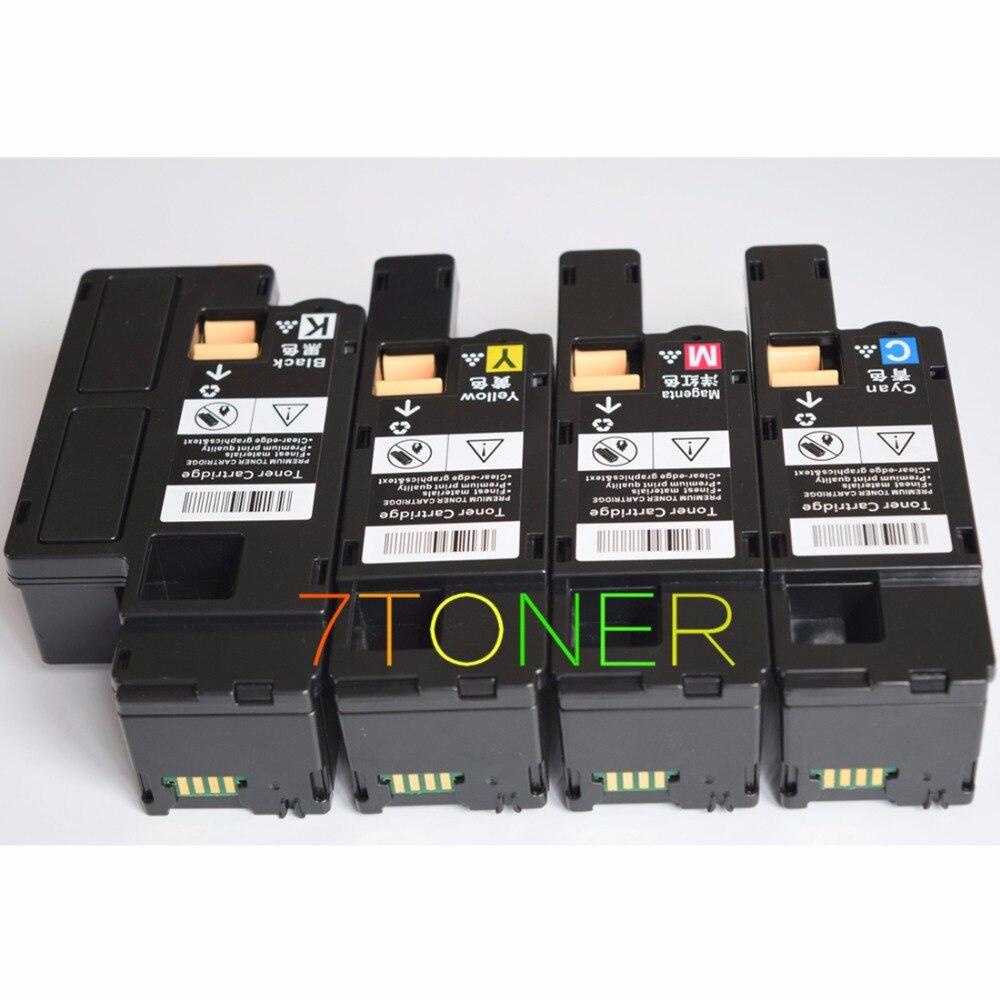 4 x toner cartridges for xerox phaser 6000 6000v b 6010 6010v n workcentre