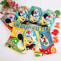 2pcs/lot Children's underwear cartoon mickey kids boy underwear briefs panties for girls boy boxers baby boy clothes