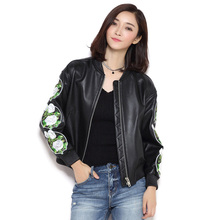 Real Leather Women Jackets 2016 New Fashion Sheep Skin Leather Genuine Leather Jacket Women Casual Coats