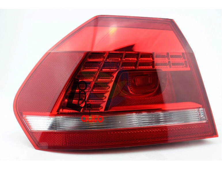 LED Tail Light For Volkswagen Passat B7  2011-2013 Rear Light for volkswagen passat b6 b7 b8 led interior boot trunk luggage compartment light bulb
