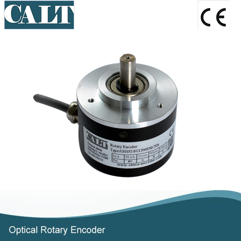 GHS52 mechanical rotary encoder motor shaft position sensors 1024 p/r line driver incremental encoders