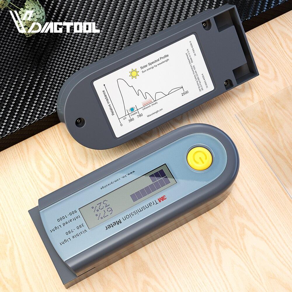Solar Films Tester Visible Infrared Barrier Test Instrumentation Rate Meter