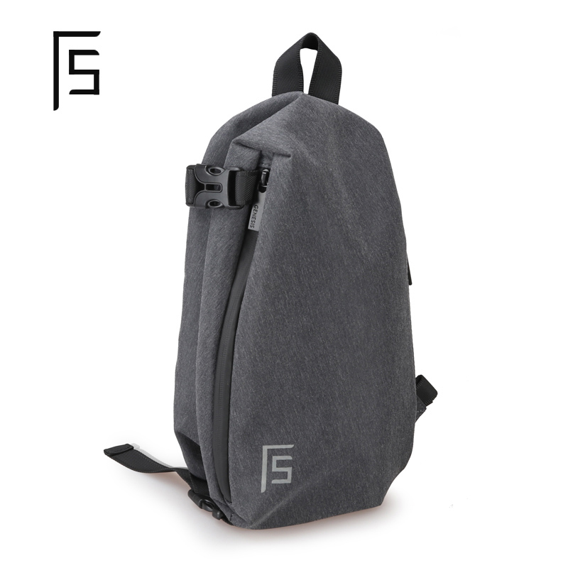 Image 2 - FYUZE New sling bag men crossbody bags for Male Single shoulder bag Anti theft bags Waterproof Casual mini Travel Pouch-in Waist Packs from Luggage & Bags