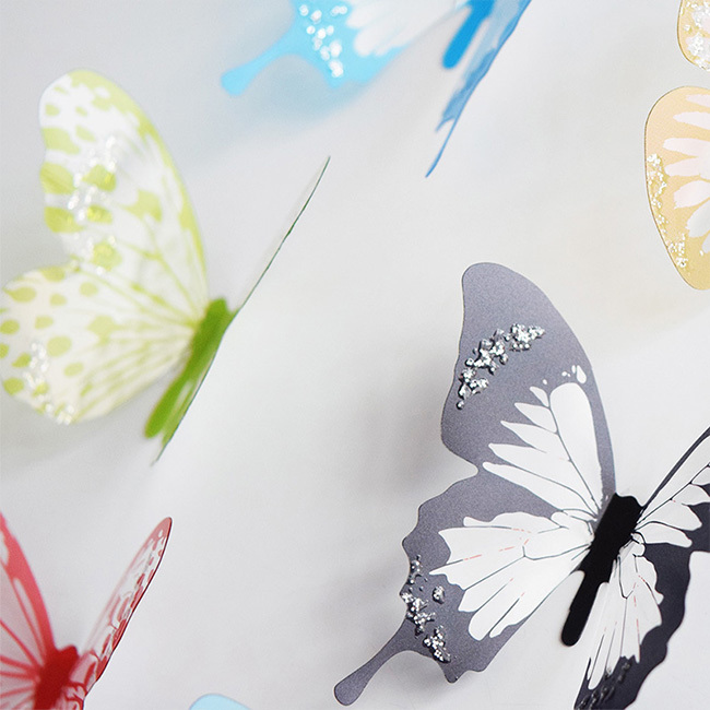 new 18 pcs 3d diy wall sticker stickers butterfly home what are the different types of kitchen home decor
