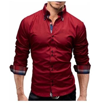 Men Business Slim Fit Dress Shirt