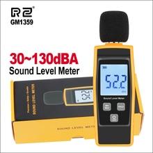 RZ шумомеры цифровой измеритель уровня звука Sonometros измеритель уровня шума аудио 30-130 дБ децибелы GM1359 мини звукомер индикатор уровня звука