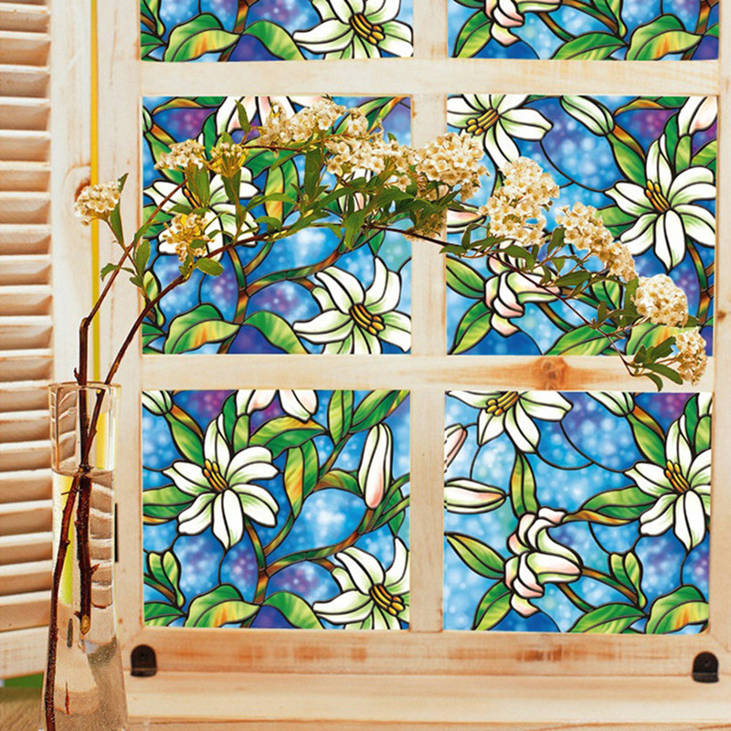 Aliexpress.com : Buy 2018 New Static Cling Stained Glass