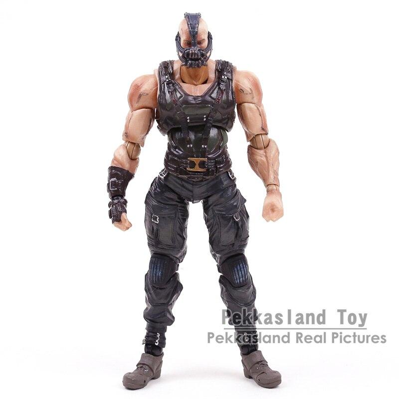 Batman, el caballero oscuro trilogía Bane juegos Kai PVC figura de acción de colección modelo de juguete 22 cm-in Figuras de juguete y acción from Juguetes y pasatiempos    2