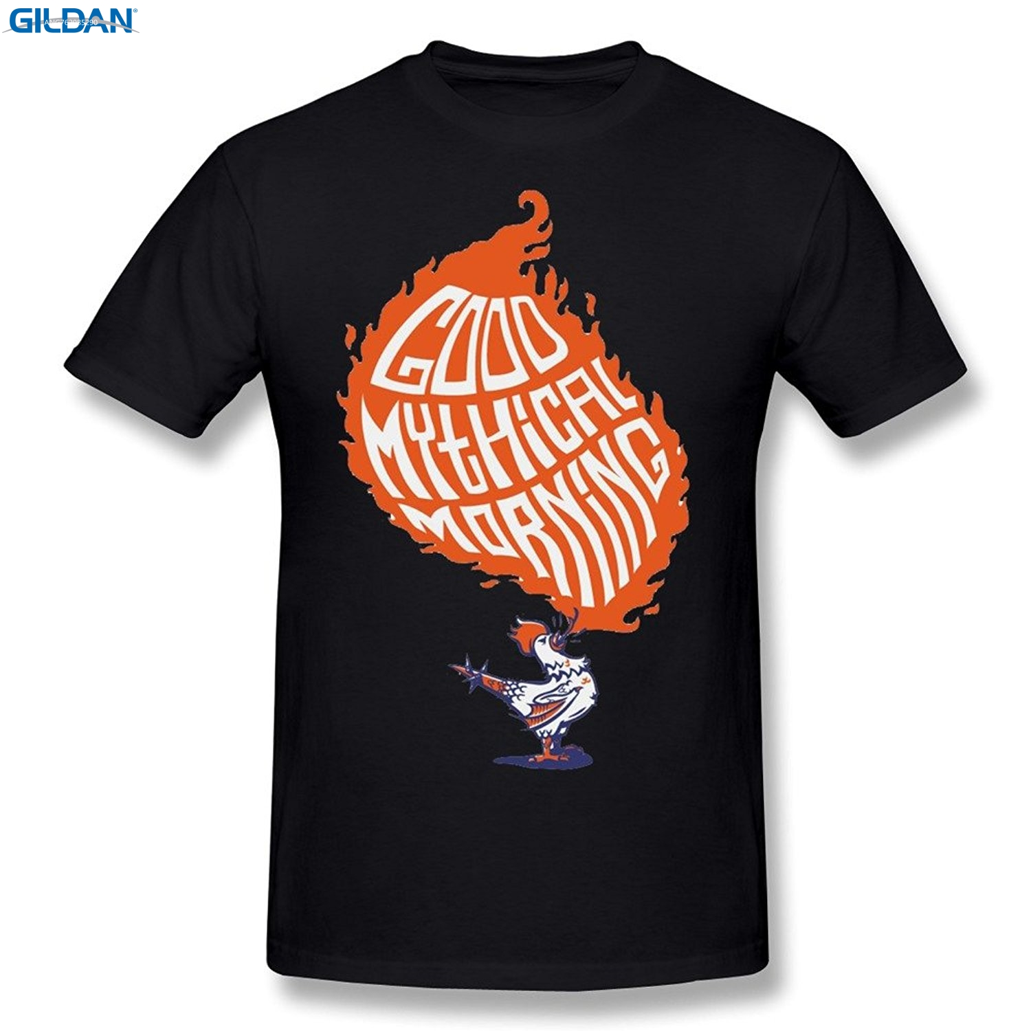 GILDAN Great Discount Cotton Tee 100% Cotton Crew Neck Good Mythical Morning On Pinterest Logo Short-Sleeve Tee