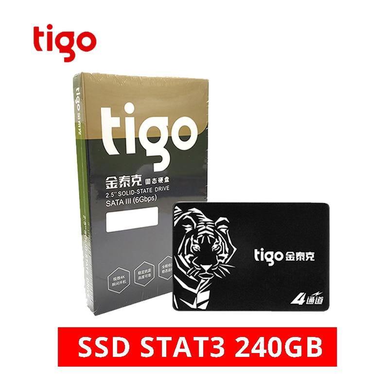 Tigo Brand 2 5 SATA 3 240GB SSD Hard Drive 240 GB Internal Solid State Drive