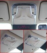 Accessori Per Mercedes Benz V Class Vito W447 2014-2017 Chrome Stile Auto Interni Rearder Lampada di Copertura Overlay Luce pannello