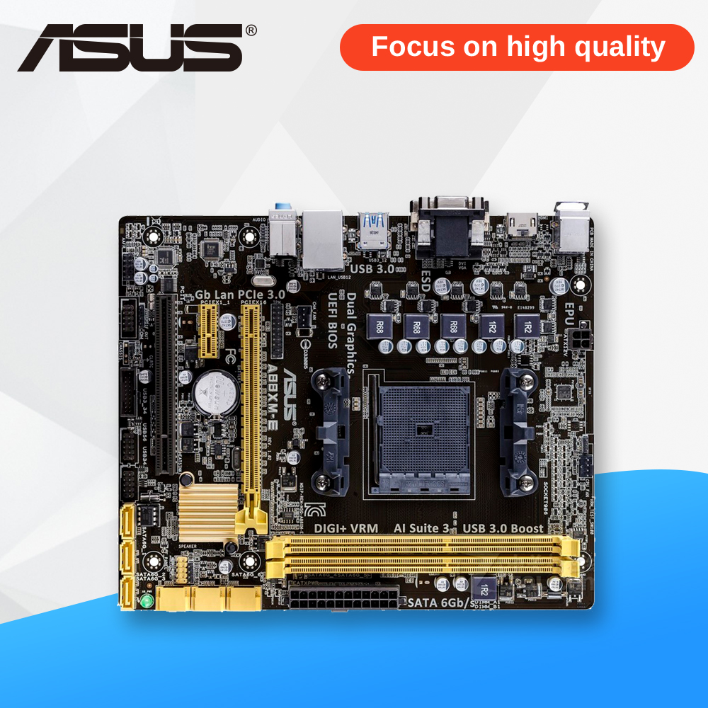 Asus A88XM-E Desktop Motherboard A88X Socket FM2 DDR3 32G SATA3 USB3.0 Micro ATX asus a88xm plus page 10