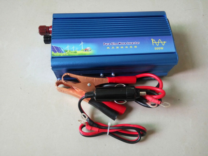 Wholesale--Hot Sell, 6pcs/lot 500W Off Grid Tie Inverter . Solar Power Inverter, 500W Pure SineWave Inverter peak 1000w 500w micro grid tie inverter for solar home system mppt function grid tie power inverter 500w 22 60v
