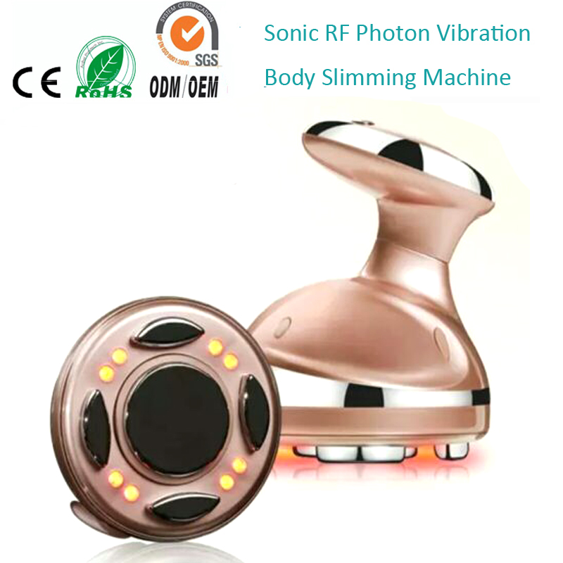 4 IN 1 Ultrasound Photon Radio Frequency Vibration Fat Cellulite Dissolving Body Shaper Sculpting Contouring Slimming Machine vibration type pneumatic sanding machine rectangle grinding machine sand vibration machine polishing machine 70x100mm