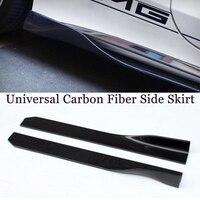 Carbon Fiber Side Bumper Extension Skirt for BMW F87 M2 E90 F30 F80 M3 F82 F83 M4 F10 G30 M5 F12 F06 M6 105cm Length Unviseral