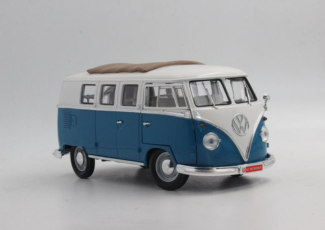 1:18 1962 T1 bus model classic cars model YaMing model Favorites Model