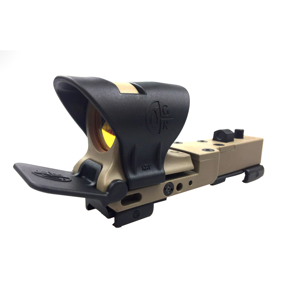 SPINA OPTICS Hunting Red Dot Sight Railway Reflex Sight C-MORE Red&Green Illumination Scope For Airsoft Rifle