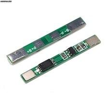 1S 3,7 V 3A литий-ионный BMS PCM плата защиты батареи pcm для 18650 литий-ионный аккумулятор