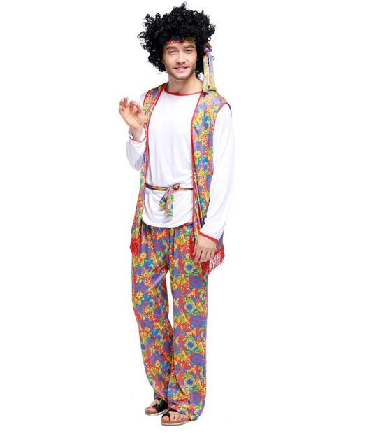 Disco Mens Hippies Hippy Costume 70s Fever Wide Leg Bell Bottom Hip Hop Singers Performance Clothing  sc 1 st  AliExpress.com & Disco Mens Hippies Hippy Costume 70s Fever Wide Leg Bell Bottom Hip ...