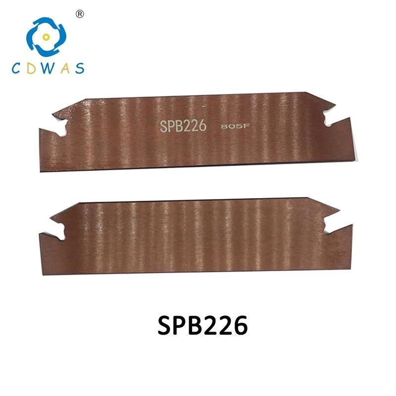 SPB26-2 SPB26-3 SPB26-4 SPB26-5 SPB32-2 SPB32-3 SPB32-4 SPB32-5 SPB32-6 Part Off Blade SPB Cutting Inserts SPB226 Lathe CNC ToolSPB26-2 SPB26-3 SPB26-4 SPB26-5 SPB32-2 SPB32-3 SPB32-4 SPB32-5 SPB32-6 Part Off Blade SPB Cutting Inserts SPB226 Lathe CNC Tool