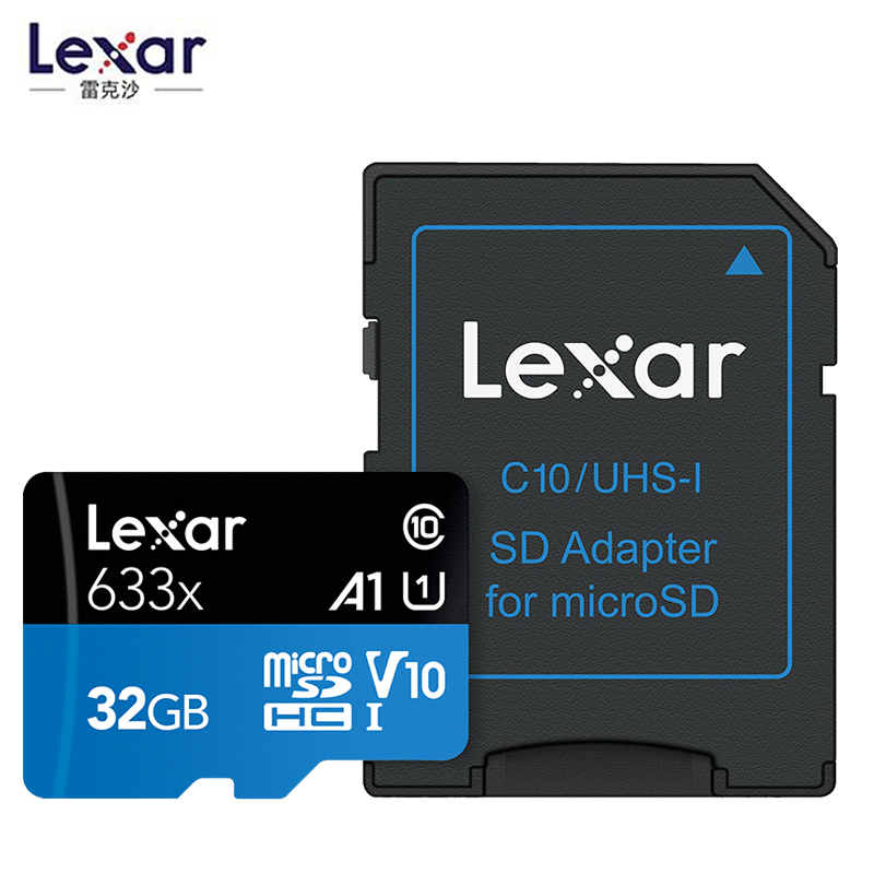 Image 2 - Promotion!!!  16GB 32GB Lexar Micro SD SDHC Memory Card high speed 64GB 128GB Micro SDXC Card TF Card Class10 633X 95M/s-in Micro SD Cards from Computer & Office
