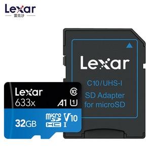 Image 2 - Promotion!!!  16GB 32GB Lexar Micro SD SDHC Memory Card high speed 64GB 128GB Micro SDXC Card TF Card Class10 633X 95M/s