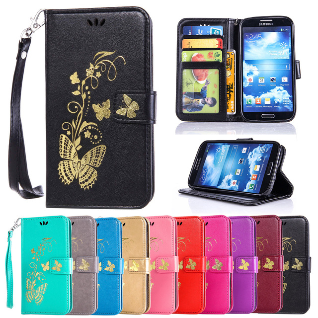 Case For Samsung Galaxy S4 S 4 VE i9500 GT-i9500 GalaxyS4 Duos i9505 GT-i9505 Lte i9506 GT-i9506 i9515 GT-i9515 Leather Cover