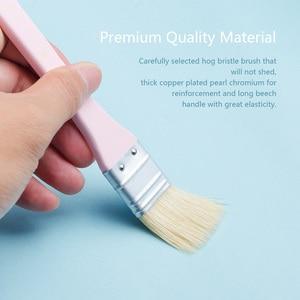 Image 2 - MIYA 10 sztuk zestaw pędzli artysty włosia włosów akwarela obraz olejny akrylowy pędzle dostaw sztuki
