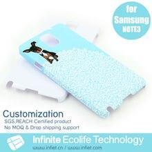 Para samsumg galaxy note 3 personalizado caso de proteção, design do telefone móvel tampa traseira para samsumg galaxy note 3