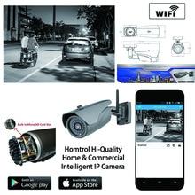Bullet Camera IP67 Waterproof Full HD IR IP Bullet Camera WiFi Power Network CCTV Camera