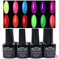 Perfect Summer Nail Polish set Soak Off UV Gel Lacquer 240 Fashion Colors Available For Salon Gel Polish 12pcs