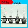 [Cnlight lâmpada Forma] 35 W genuína Cnlight hid xenon bulb globe globo lâmpada base do suporte de metal garra D4 D4S D4C D4S/C hid globo