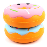 25cm Oversized Donut Toy Squishy Antistress Slow Rebound PU Dessert Creative Gift Decompression Toys for Children and Adults