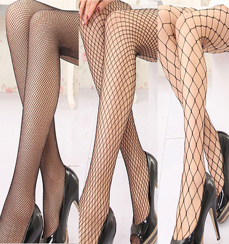 Fashion Womens Tights Beauty Fishnet Bas Sexy Stocking Tease Cute Womens Knee High Leg Warmer Candy Pantyhose Girl Stockings