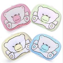 Детская подушка для младенцев, хлопковая подушка для защиты от плоской головы, плюшевая подушка для формирования животных, скидка 20