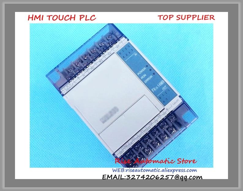 FX1S-14MR-001 PLC 24V DC Relay Output Base Unit New Original 100% test good quality new original fx3sa 10mr substitution fx1s 10mr 001