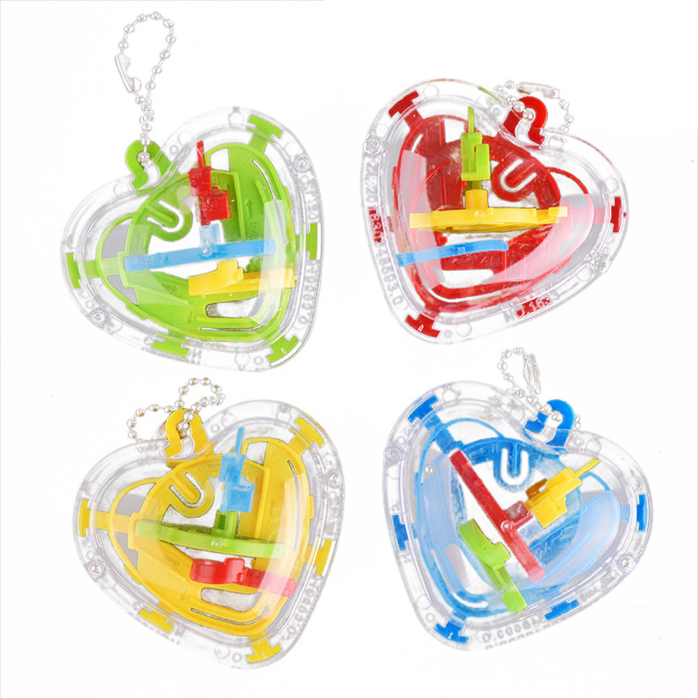50 Barriers Mini Ball Maze Intellect 3d Puzzle Toy Balance Barrier Magic Labyrinth Spherica 2019 New    7.1
